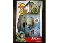 NEW SEALED Toy Story 3 DS Lite & DSi 5-in-1 Accessory Pack