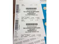 2 x League of Gentlemen tickets Edinburgh Playhouse
