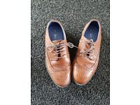 Boys brown leather next shoes