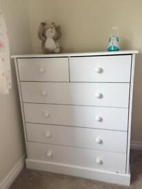 Cot And Drawers For Nursery