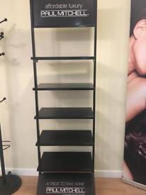 Paul Mitchell product stand