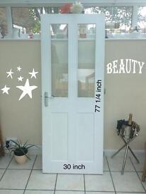 Wood internal doors ,4no £20 each