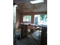 Professional plastering & rendering services, artex removing