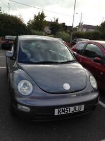 Silver Volkswagen Beetle for Sale, low mileage