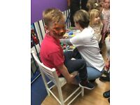 **FABFACES** Facepainting from an qualified Artist **