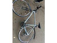ridgeback 6061 t6 aluminium bike/bicycle