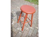 Painted Beech stool