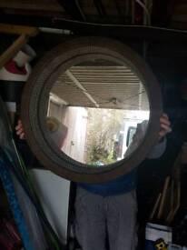 Ikea woven mirror