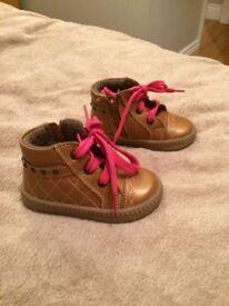 Beautiful pair of girls winter boots
