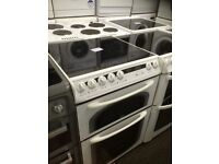 Creda ceramic top electric cooker 600 mm wide can deliver and install