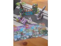 Lego Friends Jungle Bridge Rescue. Like new condition with all pieces and instructions.