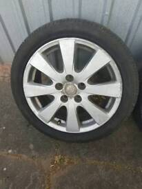 Toyota avensis alloy wheels
