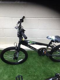 BMX bike to suit 7 year old plus. As new.