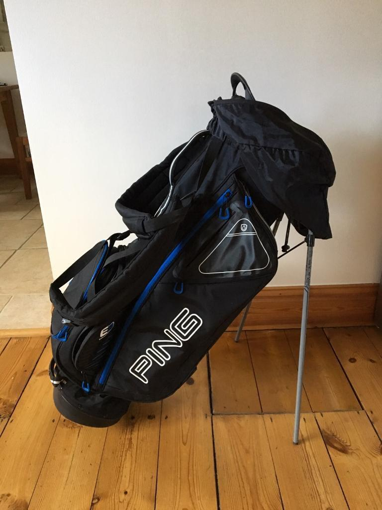 e31fdc1a70 Golf Bag Ping Hoofer Carry Bag with Stand
