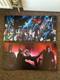 Batman art prints £6 each or both for £10.00