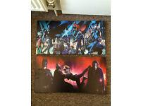 Batman art prints £6 each or both for £10.00