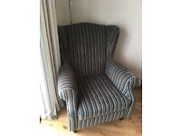 Next Sherlock armchair with studs