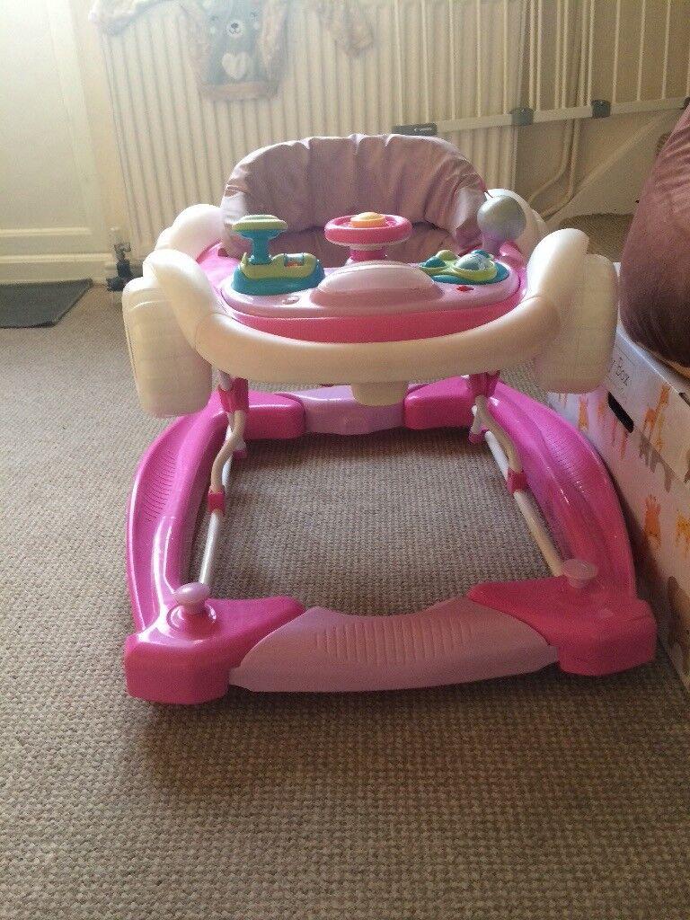 Baby Girl Car Walker
