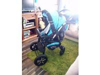 Baby Merc S7 Buggy/Pushchair/3 in 1