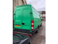 Long wheel Iveco for sale.
