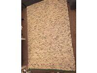 Used Ikea carpet