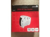 Fan heater - new and unused