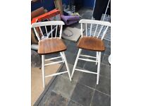 Antique wooden bar stools for sale