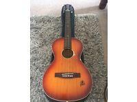 Vintage framus acoustic guitar 1960