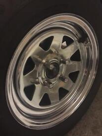 Classic Car Wheels Alloys Weller Triumph 95.25 Retro Vintage
