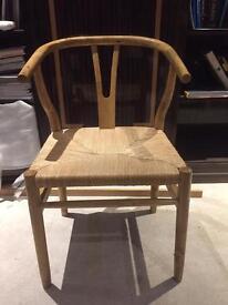 2 Natural Ningbo Chairs, Graham And Green