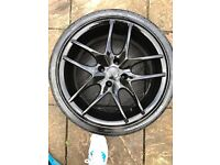 "TSW 17"" alloys RRP £898 £140 Ono"