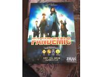 Pandemic board game.