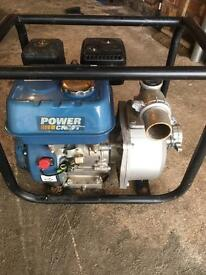 "Power craft 2"" petrol water pump"