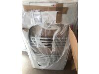 Curved chrome towel radiator New