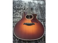 Taylor 714 CE Acoustic Guitar Sunburst (px Gibson or Fender)