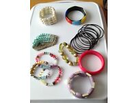 Assorted Jewellery....bangles & beaded necklaces