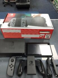 Used NS (Gray and Black) - Zelda model also available- can be swapped for old gadgets in store -