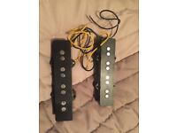 Genuine Fender Mexican MIM Jazz electric bass pickups
