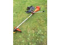 Husqvarna heavy duty Strimmer with full harness
