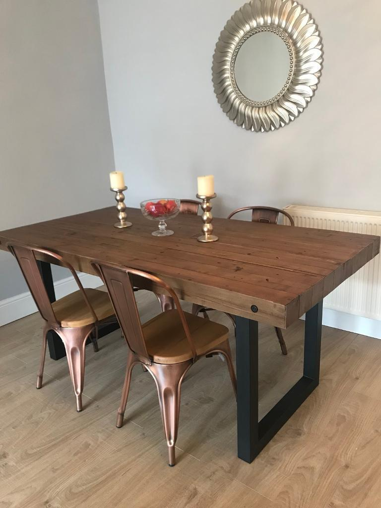 DFS Toronto Dining Table Chairs
