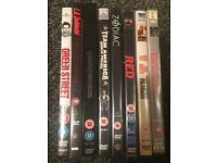 DVDs Green st,la confidential,transformers,team America,zodiac,red,the Mexican,Donnie brasco. £5