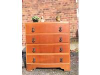 ENGLISH 1920s-1930s CHEST OF DRAWERS FREE DELIVERY 🇬🇧VINTAGE