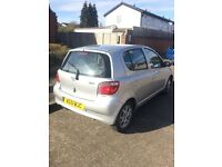 Toyota YARIS automatic Silver 74k miles
