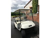 EZGO Petrol Golf Buggy. Good condition . Twin cylinder. The paint has small scuffs.