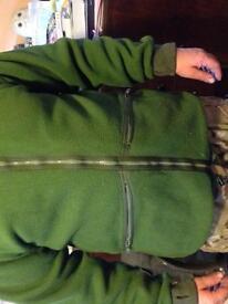 Army warm jacket