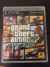 Grand Theft Auto 5 GTA V for Playstation 3 PS3