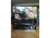 George Foreman Fat Reducing Grill - Entertaining Size 7 Portion BRAND NEW
