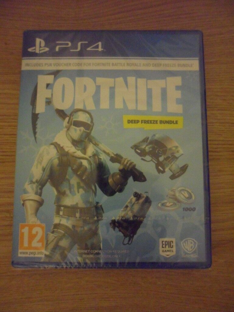 Fortnite Deep Freeze Ps4 Game Brand New Sealed In Golders Green