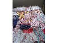 Bag full of baby girl's clothes 0-3 months £30