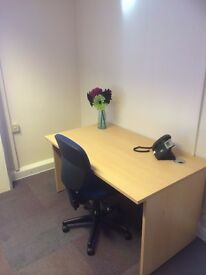 Fully Furnished 1-2 Person Office Suite Space To Rent Let North Somerset Serviced Offices W-S-M